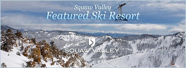 2a77e4a2f4e Featured Resort  Squaw Valley Ski Resort